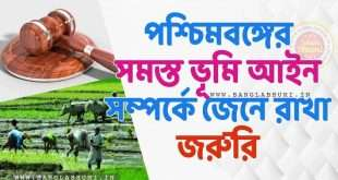 Important Land Laws in West Bengal