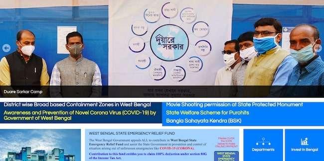 West Bengal Duare Paschim Banga Sarkar Scheme